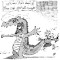 Nikahang Kowsar drawing Ayatollah Mesbah Yazdi