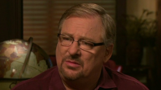 Rick Warren on shooting:  'I prayed'