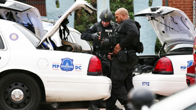 Witnesses recount the Navy Yard shooting