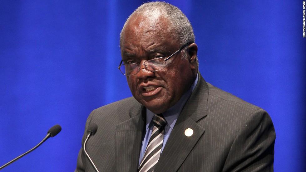 Namibia President Hifikepunye Pohamba is 78.