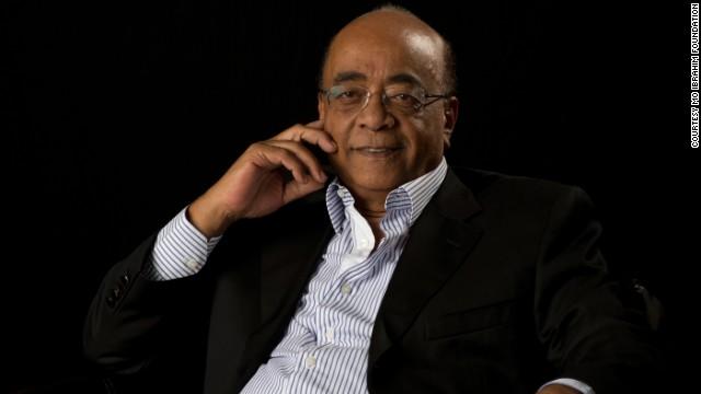 Mo Ibrahim.