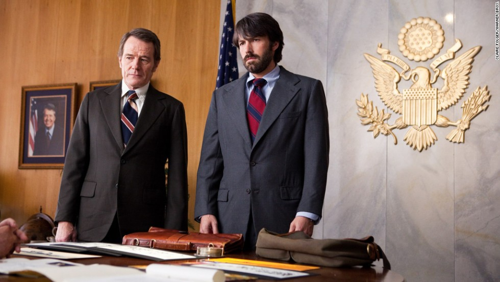 """Argo"" (2012) stars Cranston as a CIA officer, the boss of agent Tony Mendez (Ben Affleck). ""Argo"" won best picture at the Oscars."