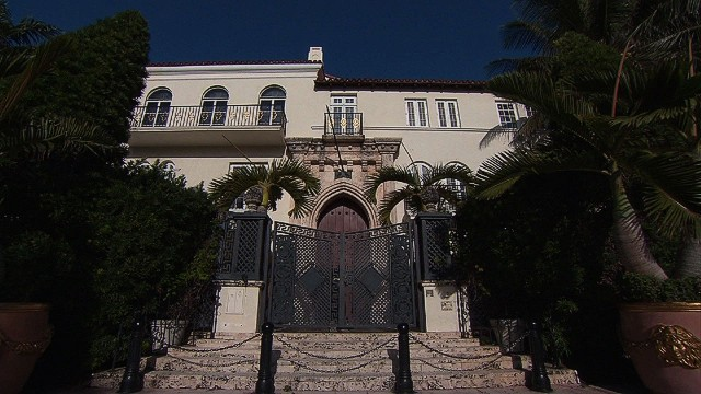 A rare look inside the former Versace mansion