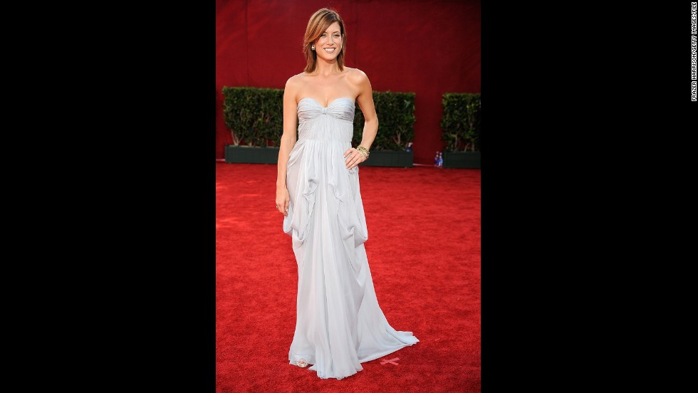In 2009, actress Kate Walsh was one of the year's best-dressed stars with a beautifully pleated gown.