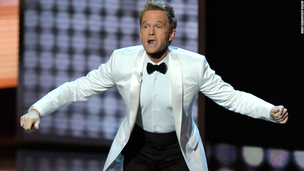 Neil Patrick Harris sang, danced and goofed his way into viewers' hearts at the 61st Primetime Emmy Awards, held at the Nokia Theatre on September 20, 2009, in Los Angeles.