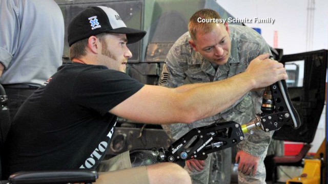 X Games medalist helps amputees compete