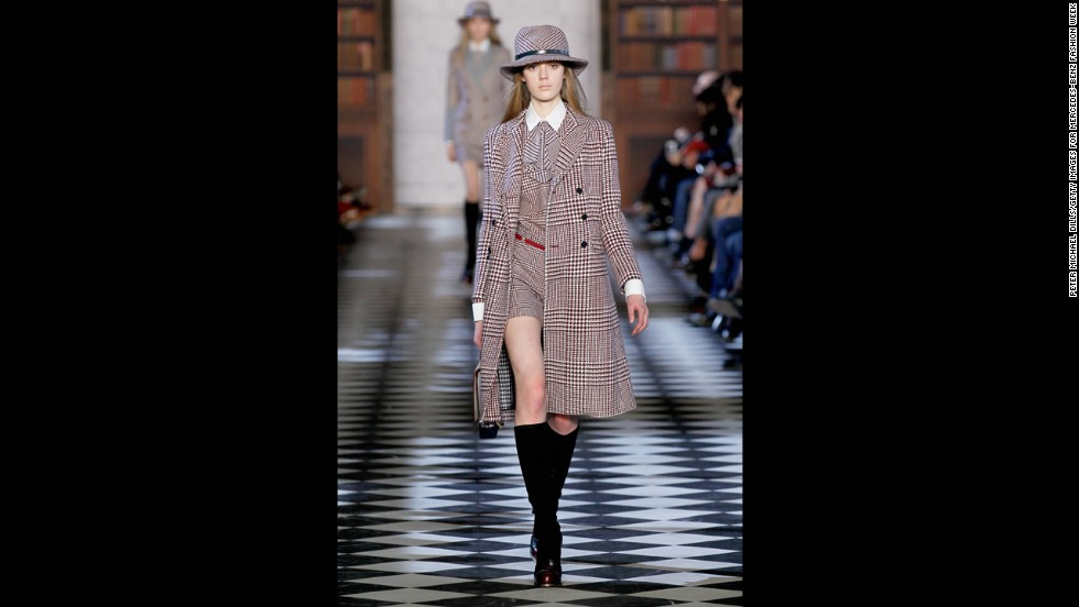 Tommy Hilfiger's fall 2013 show during Mercedes-Benz Fashion Week in February.