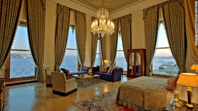 Ciragan Palace Kempinski, Istanbul.