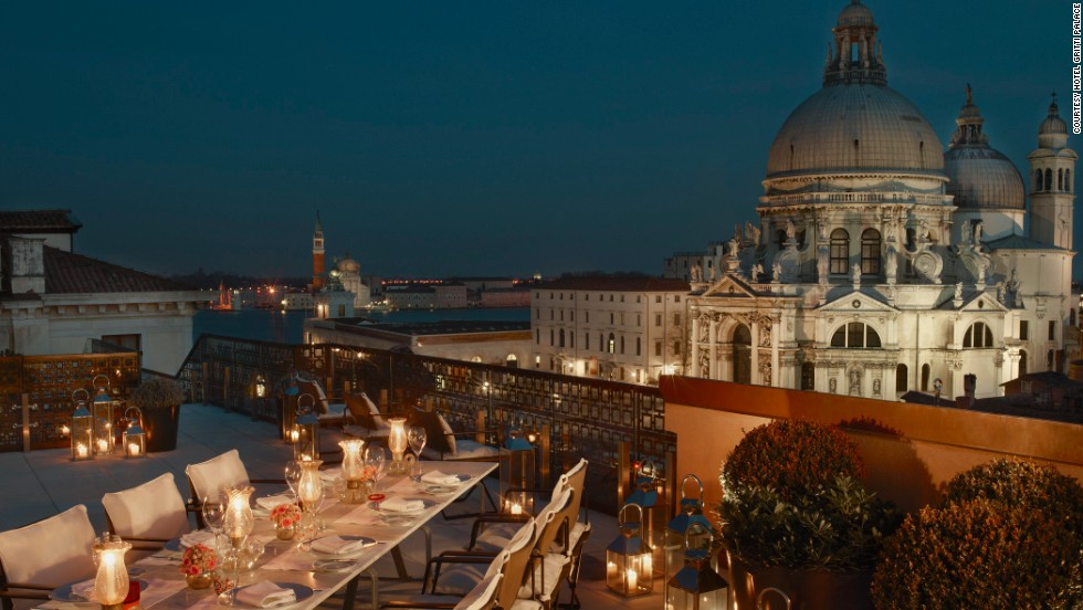 """Venice has an endless number of """"palaces"""" converted into hotels, but few match up to the opulence of the Gritti. Constructed in the 16th century for the city's """"Doge"""" (Duke), it was later used to welcome Vatican ambassadors, before finally being turned into a hotel in the late 1800s."""