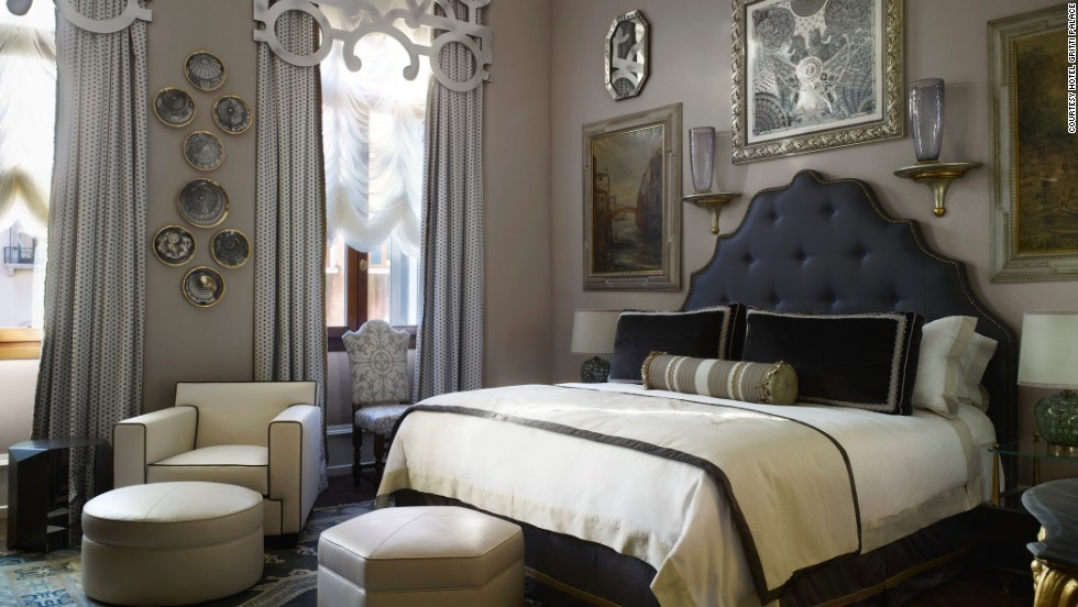 Following a 15-month renovation, the hotel re-opened this spring, with each of its 82 rooms restored with the Renaissance in mind.