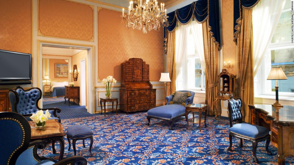 In 1873, an investor bought the property in time for that year's Vienna Expo, and Little has changed since, with the palace's 150-year history available to all who stay at the hotel: ornate 19th-century chandeliers, crest-embossed drapes and endless relics.