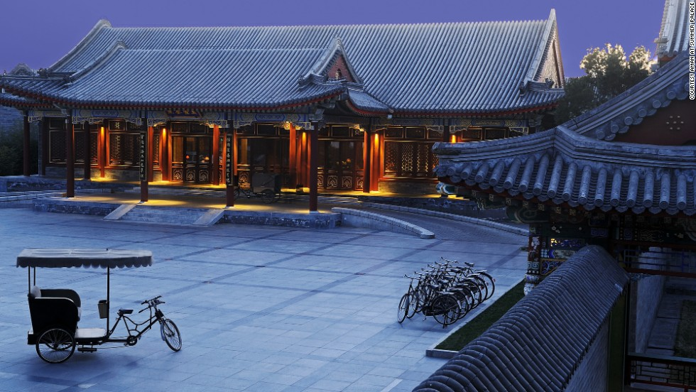 The Aman at Summer Palace is near the East Gate of Beijing's grand Summer Palace and comprises a series of 100-year old pavilions that were previously reserved for guests of the Empress Dowager.