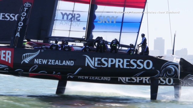 The sailors who race the America's Cup