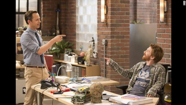 """Giovanni Ribisi and Seth Green star as gaming entrepreneurs and childhood best friends in """"Dads."""""""