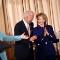 Merkel Clinton Trauser suit