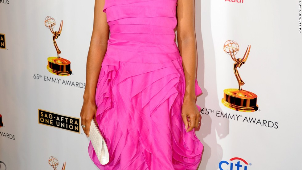 Kerry Washington glows on the red carpet at the SAG-AFTRA celebration in Hollywood on September 17.