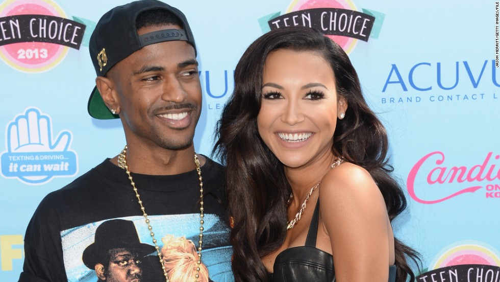 "Rapper Big Sean and ""Glee"" actress Naya Rivera called off their engagement in April 2013, six months after announcing their plans to wed. Rivera moved on from Big Sean to marry friend Ryan Dorsey in July."