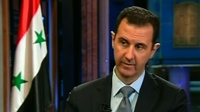Al-Assad: We didn't agree because of threat