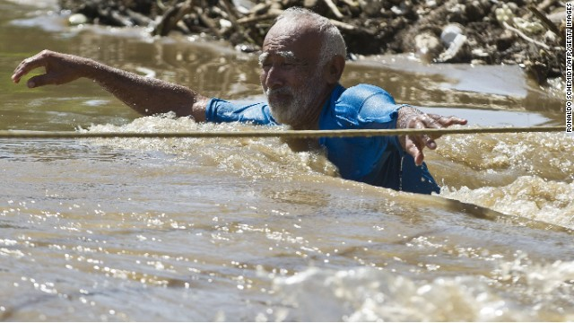 Tourists stranded in flood ravaged Acapulco