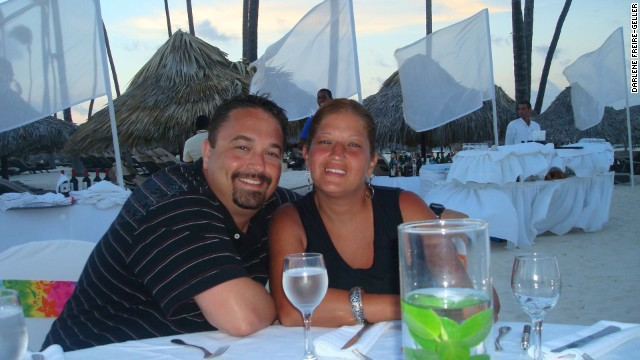 Ira and Darlene Geller on vacation in Dominican Republic.