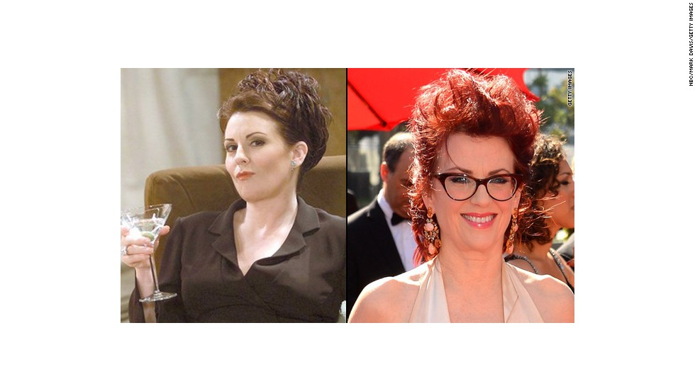 """Megan Mullally went for laughs as the frequently boozing and pill popping Karen Walker, Grace's wealthy, somewhat-helpful assistant. She briefly hosted her own talk show from 2006 to 2007, has guest starred on several shows including husband Nick Offerman's """"Parks and Recreation"""" and co-stared on the Adult Swim series """"Children's Hospital."""""""