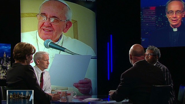 What is Pope Francis' message?