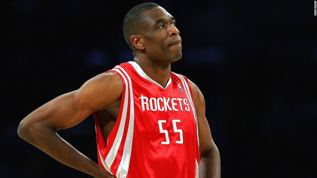 Referred to as one of the greatest shot blockers of all time, Dikembe Mutombo, from DR Congo, played for six NBA teams between 1991-2009. His longest stints were at the Denver Nuggets and the Houston Rockets.