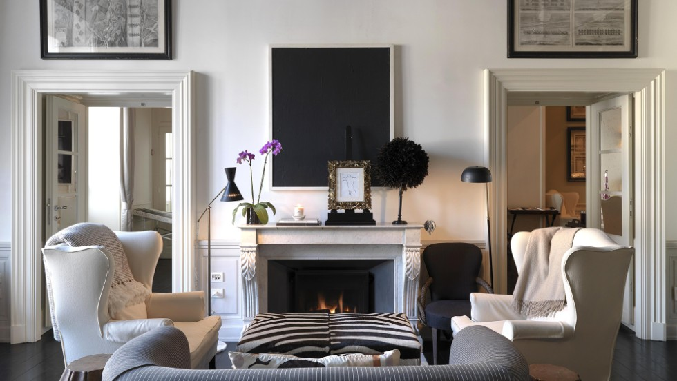 """J.K. Place in Florence was one of the Fodor's award winners in the """"home suite homes"""" category. """"It looks like you're entering someone's (really nice) living room, where you can have a glass of wine and plan your evening,"""" says Bowen. """"It's feels really private and intimate."""""""