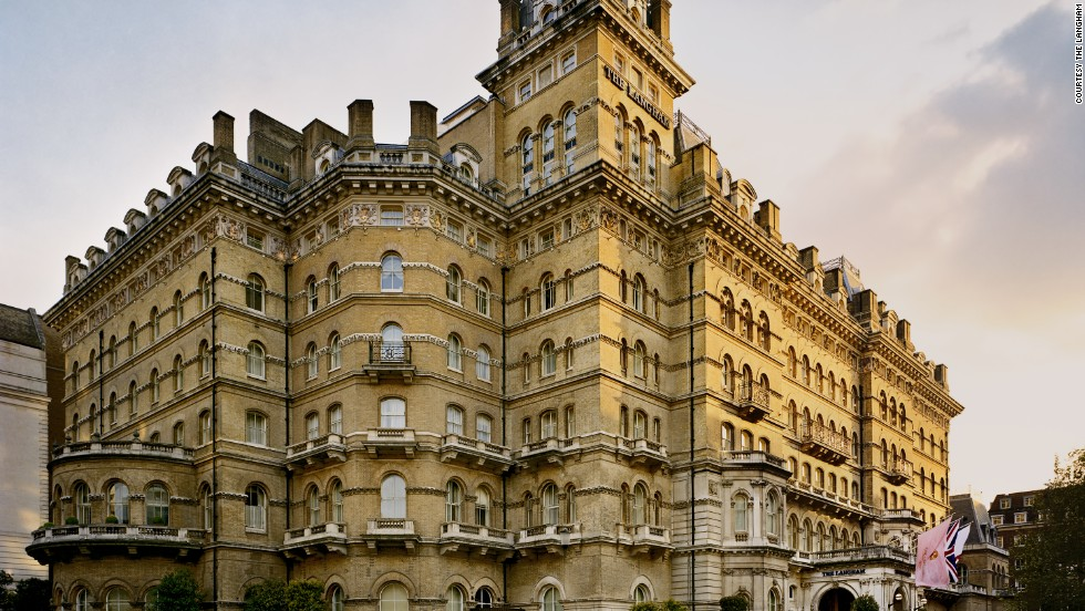 "In ""GoldenEye"" -- the first James Bond film not based on Ian Fleming's novels -- this London hotel doubles as St. Petersburg's Grand Hotel Europe. The Langham was constructed in 1865 and is one of London's first purpose-built hotels."