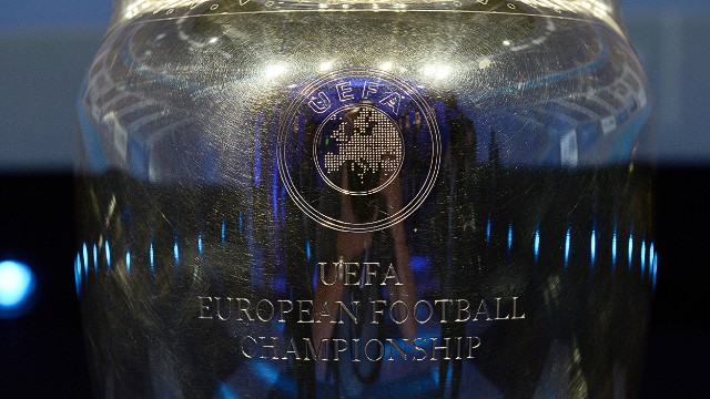 The Coupe Henri Delaunay -- the trophy of the UEFA European Football Championship.