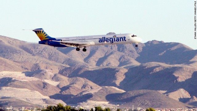 All 52 of Allegiant Air's MD-80s were out of service at one point Friday because of  issues with the planes' emergency exit slides.