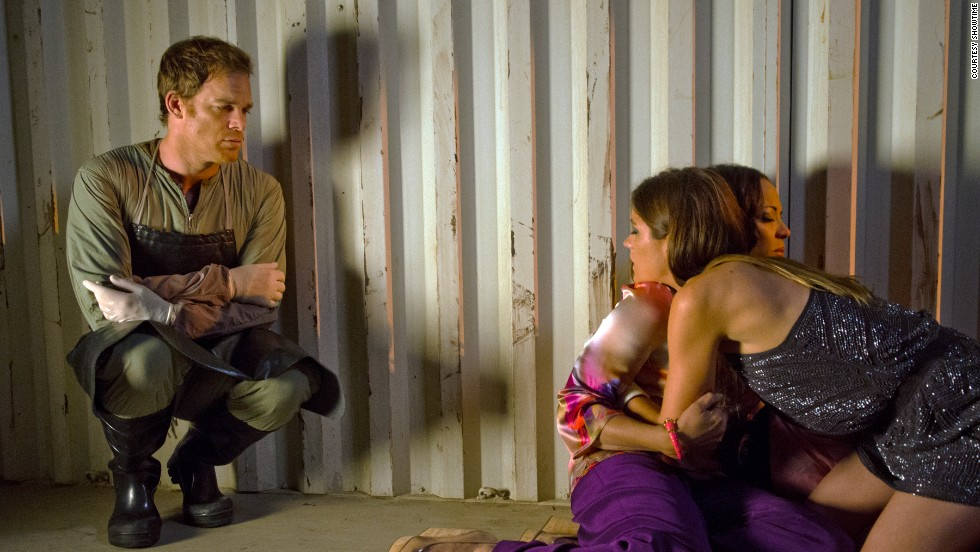 Dexter had lured Captain Maria LaGuerta to the spot where he killed Estrada, planning to make it look like they killed each other.  LaGuerta was sure that Dexter was a killer, so she had to go, code or no.  But before he could finish her off, his sister Debra shows up and shoots LaGuerta to save her brother in the season seven finale.  So while Dexter didn't kill her himself, he was largely responsible for her death, and for making Deb a murderer.