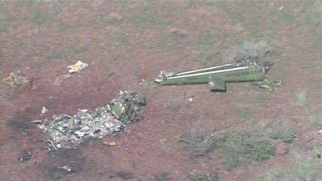 Fatal helicopter crash in Arizona