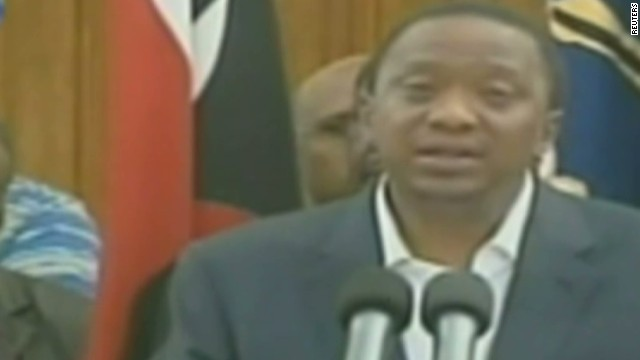 Kenya president: Cowards will be punished