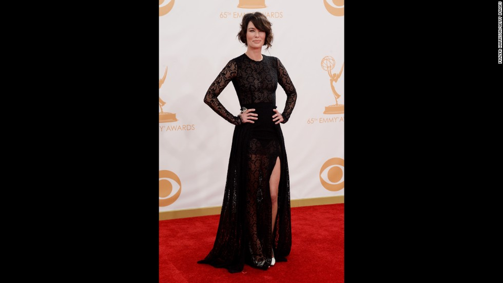"""Game of Thrones"" star Lena Headey"