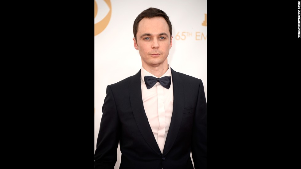 """The Big Bang Theory"" star Jim Parsons took home the Emmy for outstanding lead actor in a comedy series. It was his third Emmy win in four years for his role as Sheldon Cooper."