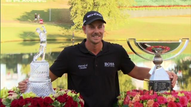 Henrik Stenson claims $10 million prize