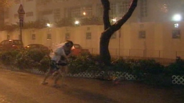Typhoon Usagi strikes southern China