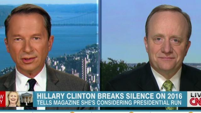 Experts analyze Clinton presidential run