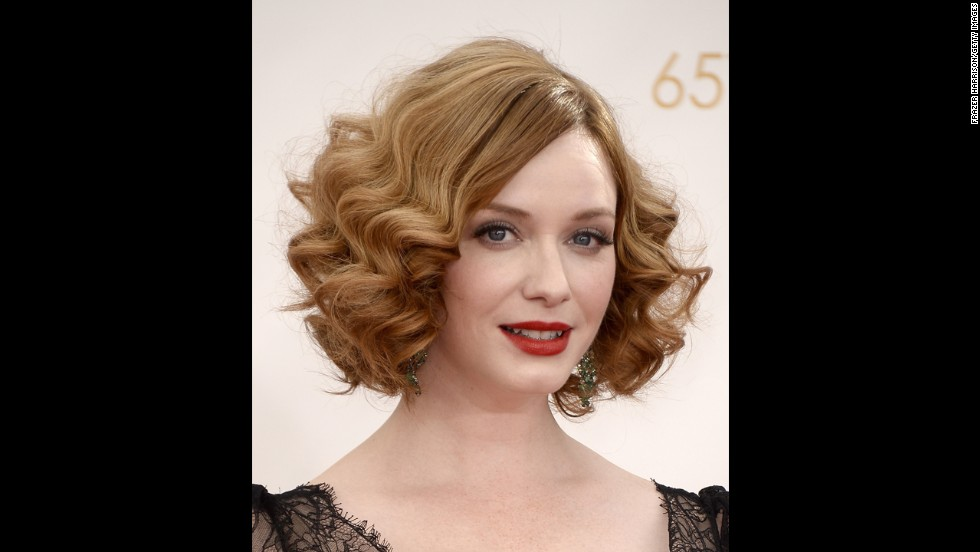 """Mad Men"" actress Christina Hendricks was nominated as outstanding supporting actress in a drama."