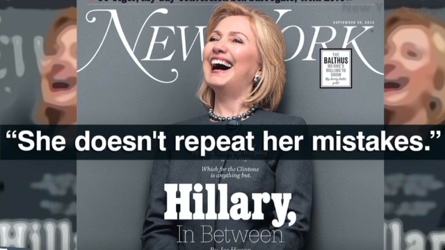 Clinton 'wrestling' with 2016 run