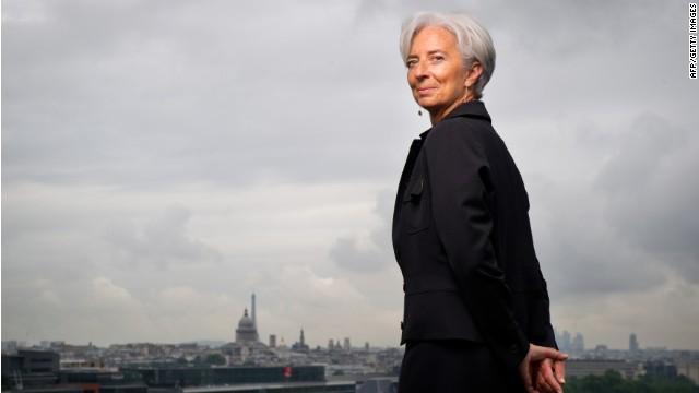 Lagarde on European 'green shoots'