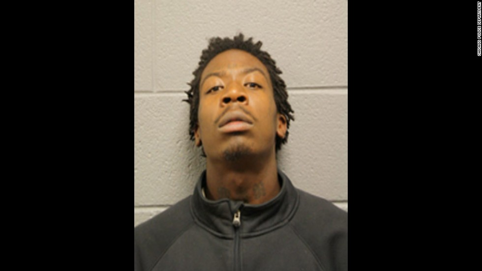 Bryon Champ, 21, also fired a gun during the shooting, according to police. Police also say he is a convicted felon and known gang member. He is charged with attempted murder and aggravated battery with a firearm.