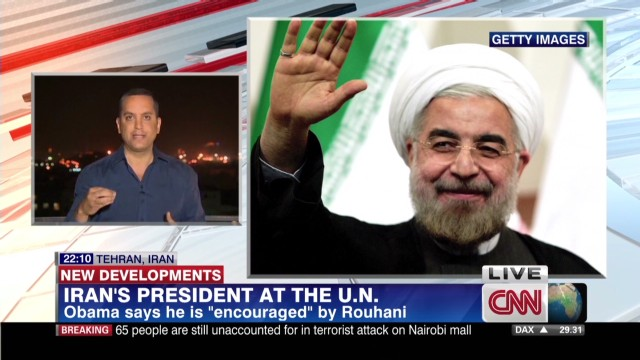 Iran pleased by Obama's remarks at U.N.