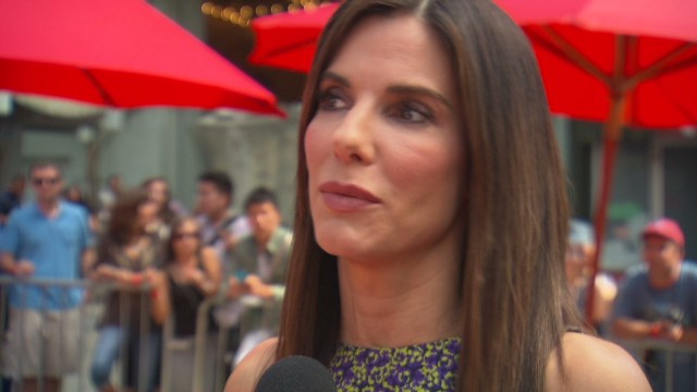"Sandra Bullock on ""Paparazzi Bill"""