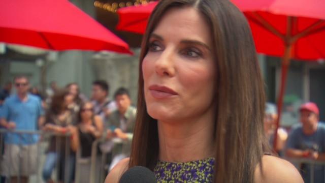 "Sandra Bullock on ""Paparazzi Bill"""