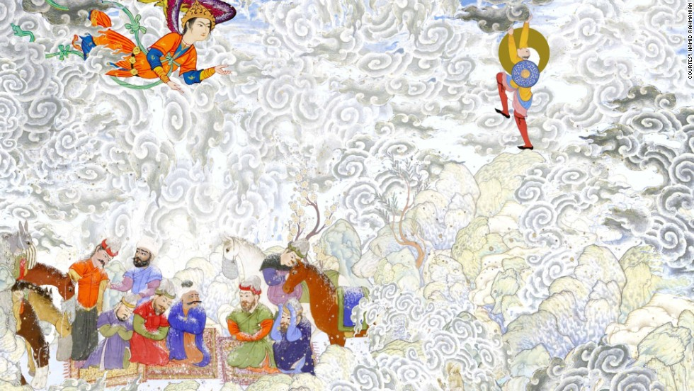 The Shahnameh is the longest poem every written. It's is bigger than the Iliad and Odyssey combined.