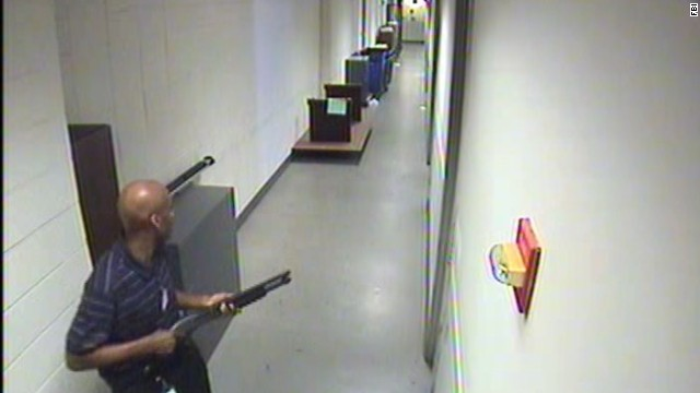 See video of Navy Yard shooter