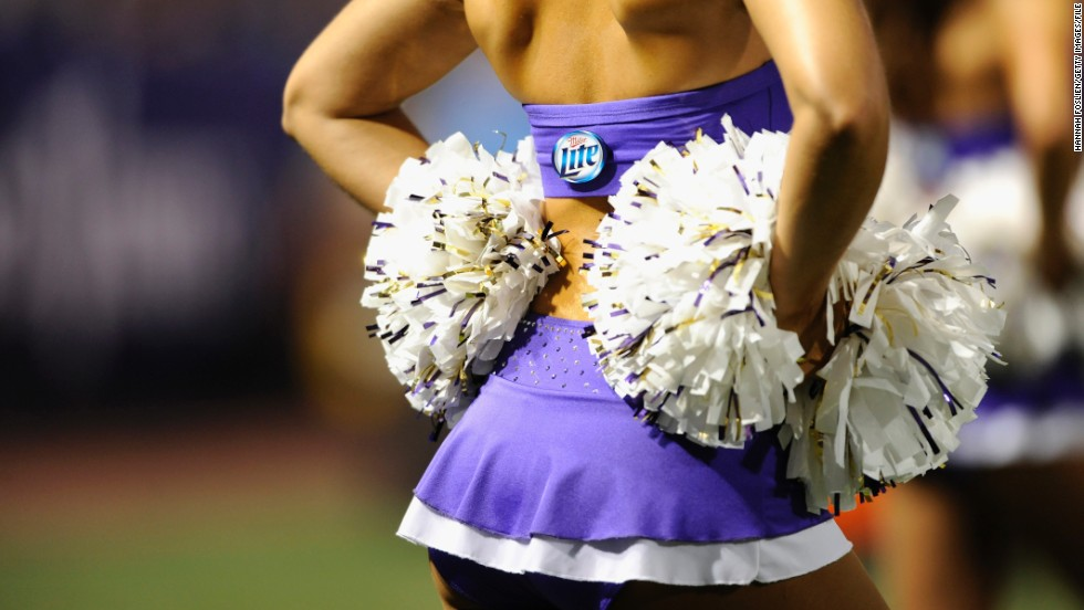 As every cheerleader knows, it is important to accessorize. Where would any self-respecting cheerleader be without her pompoms?