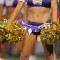 cheerleaders vikings hair